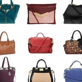 Виды женских сумок по форме