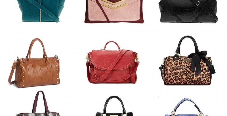 Види жіночих сумок за формою